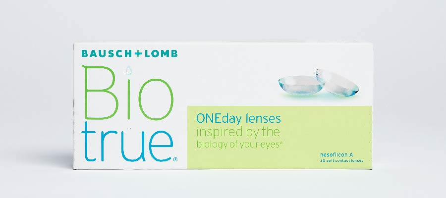 Biotrue OneDay. Влагосодержание этих однодневных контактных линз впечатляет