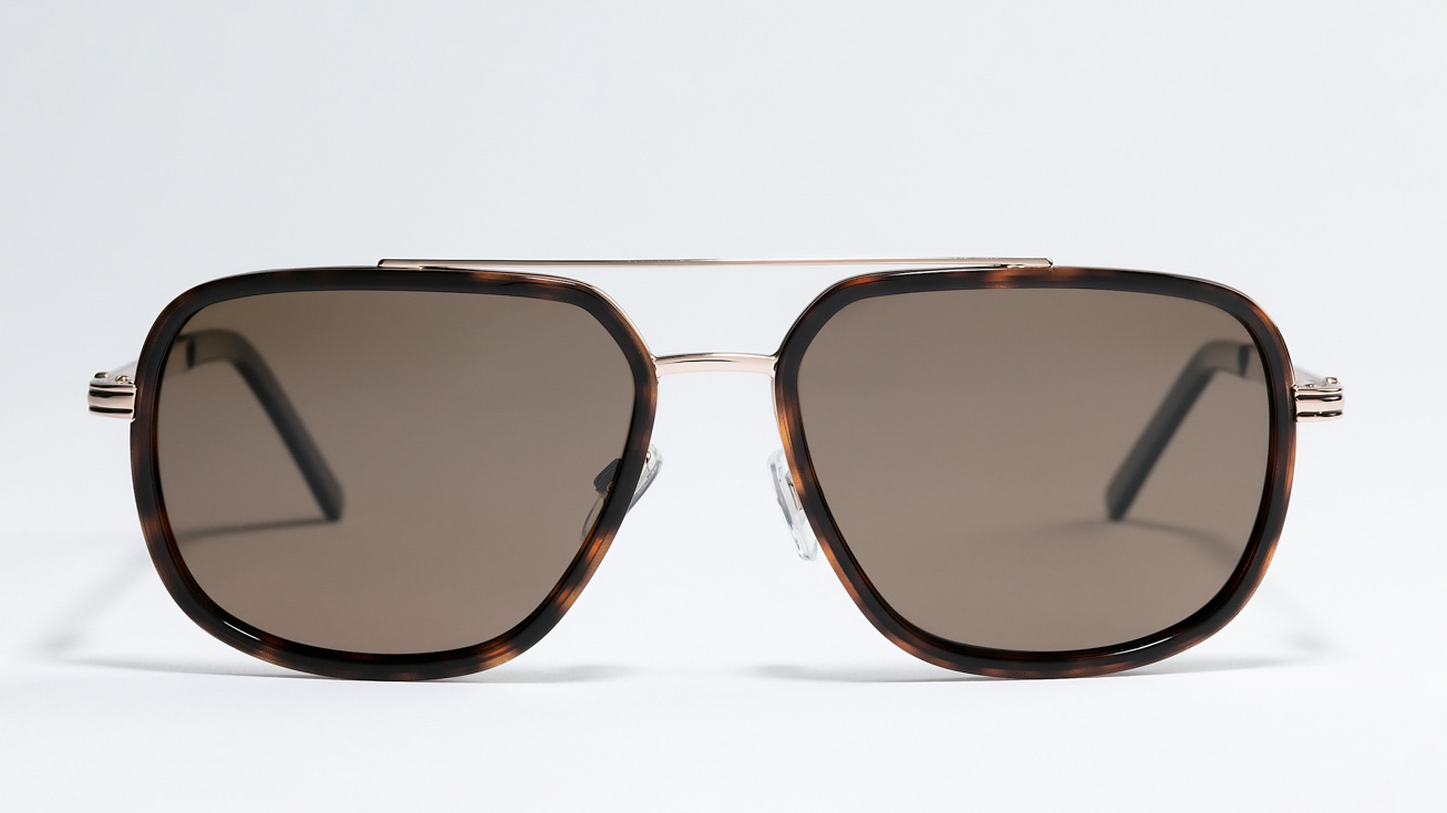 Солнцезащитные очки MEGAPOLIS 208 BROWN 1