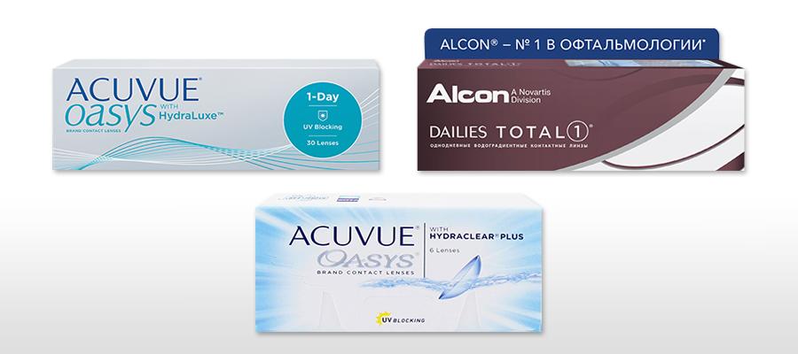 аддидация контактных линз